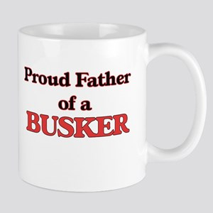 Proud Father of a Busker Mugs