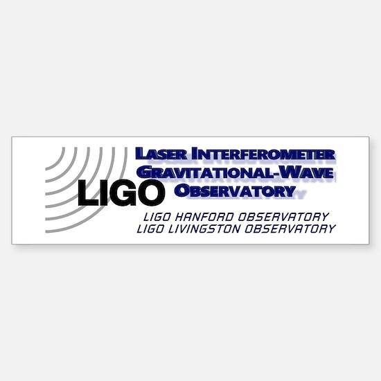 LIGO! Sticker (Bumper)