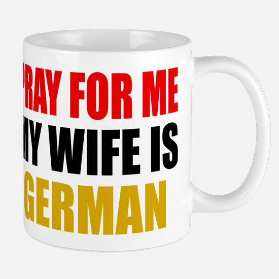 Pray Wife German Stainless Steel Travel Mugs