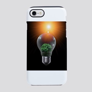 Forest in a Bulb iPhone 8/7 Tough Case