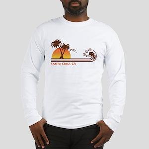 Santa Cruz California Long Sleeve T-Shirt