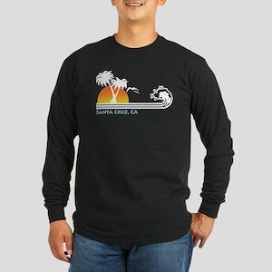 Santa Cruz California Long Sleeve Dark T-Shirt