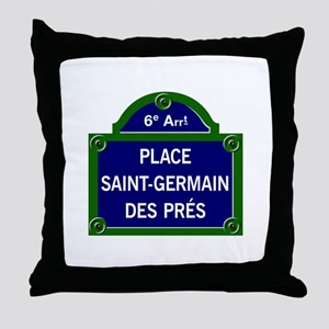 Place Saint-Germain des Prés, Paris - France Throw