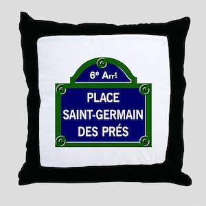 Place Saint-Germain des Prés, Paris - France Throw