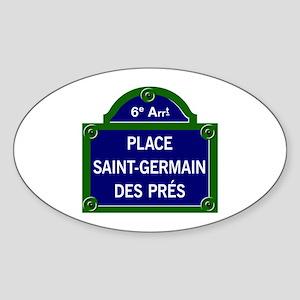 Place Saint-Germain des Prés, Paris - France Stick