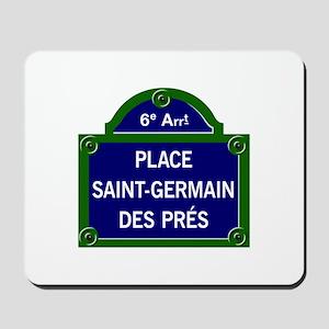 Place Saint-Germain des Prés, Paris - France Mouse
