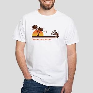 Cabo San Lucas Mexico White T-Shirt