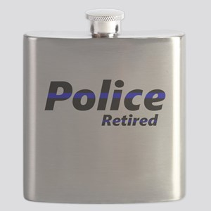 Retired Police Flask