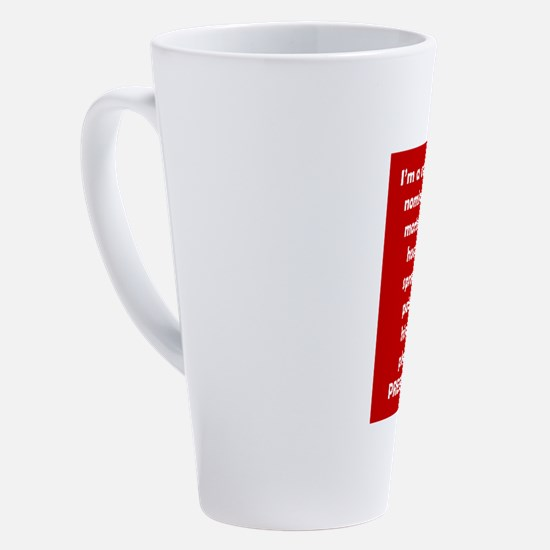 Cute Columns 17 oz Latte Mug