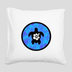 HONU Square Canvas Pillow