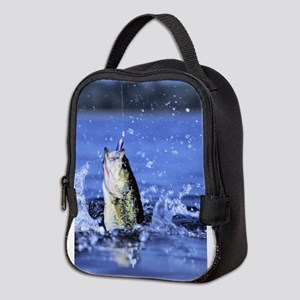 fishing Neoprene Lunch Bag
