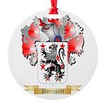 Pierrepont Round Ornament