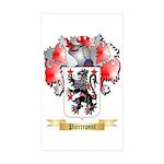 Pierrepont Sticker (Rectangle 50 pk)