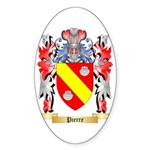 Pierre Sticker (Oval 10 pk)