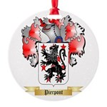 Pierpont Round Ornament