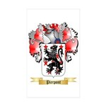 Pierpont Sticker (Rectangle 10 pk)