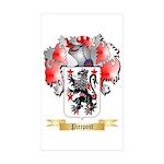 Pierpont Sticker (Rectangle 50 pk)