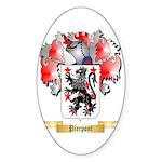 Pierpont Sticker (Oval 50 pk)