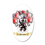Pierpont 20x12 Oval Wall Decal