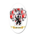 Pierpont 35x21 Oval Wall Decal