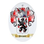Pierpont Oval Ornament
