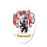 Pierpoint Oval Car Magnet