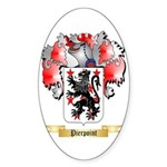 Pierpoint Sticker (Oval 50 pk)