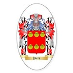 Piero Sticker (Oval 10 pk)
