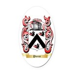 Pierce Oval Car Magnet