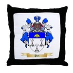 Piel Throw Pillow