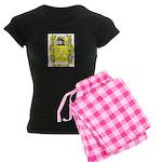 Piedra Women's Dark Pajamas