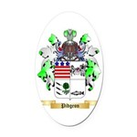 Pidgeon Oval Car Magnet