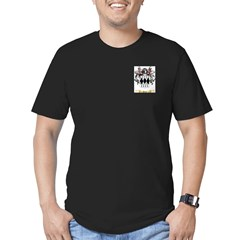 Picot Men's Fitted T-Shirt (dark)