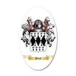 Picot 20x12 Oval Wall Decal