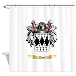 Picot Shower Curtain