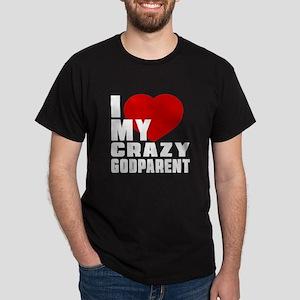 I Love Godparent Dark T-Shirt