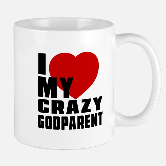 I Love Godparent Mug