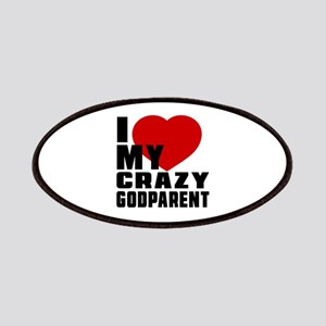 I Love Godparent Patch