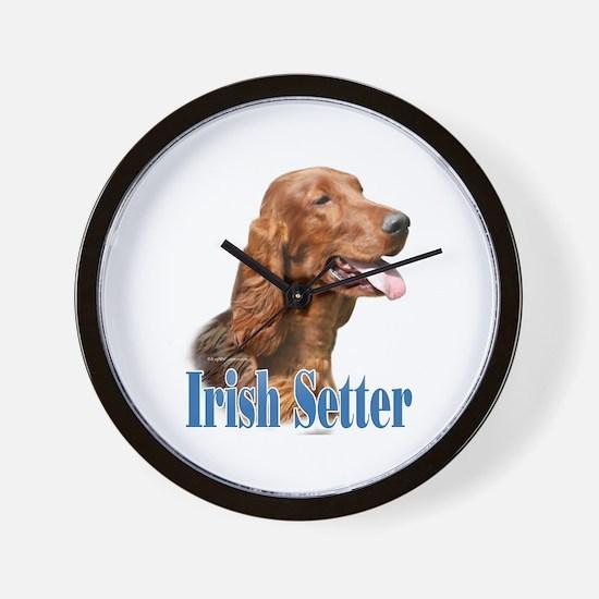 IrishSetterName Wall Clock