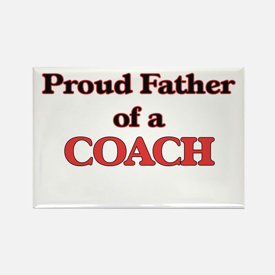 Proud Father of a Coach Magnets