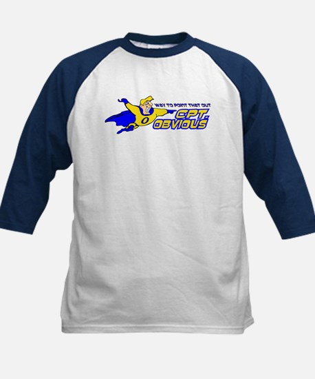 Cpt. Obvious Kids Baseball Jersey