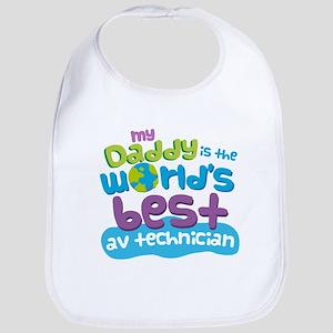 AV Technician Gifts For Kids Baby Bib