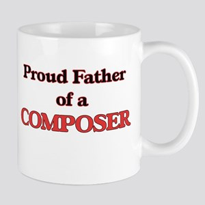 Proud Father of a Composer Mugs