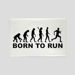 Evolution Born to run Rectangle Magnet