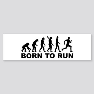 Evolution Born to run Sticker (Bumper)