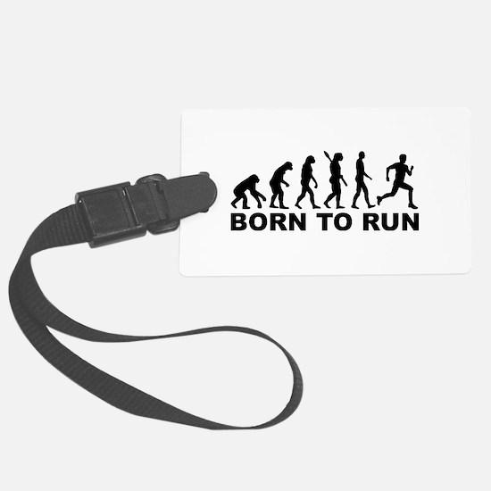 Evolution Born to run Luggage Tag