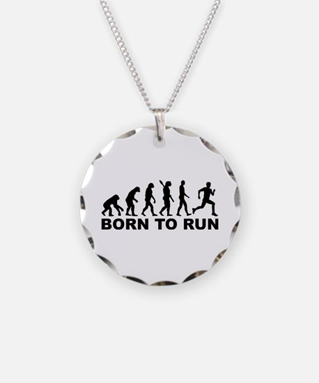 Evolution Born to run Necklace
