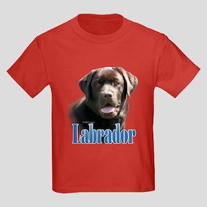 Lab(choco)Name Kids Dark T-Shirt