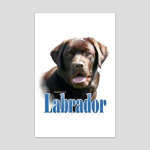 Lab(choco)Name Mini Poster Print