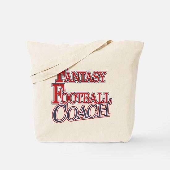 Fantasy Football Coach Tote Bag